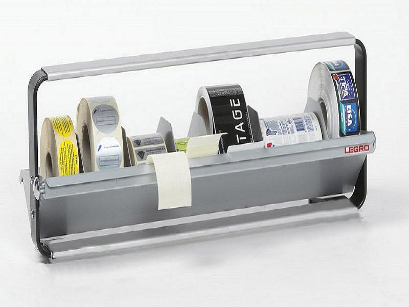 1155.50.WS - Legro etiketten multiblock, (5x) 50cm + wandsteunen
