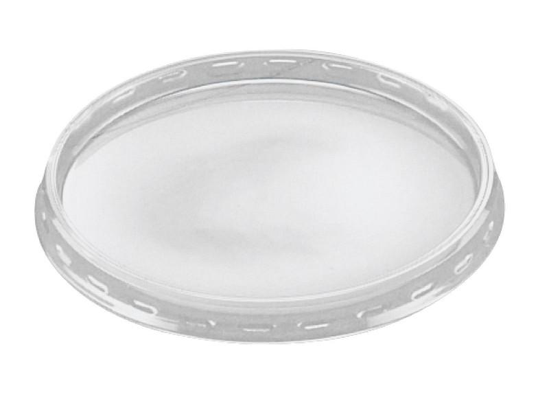 1369800 - Deksels PVC tbv Aluminium bakjes 133 ml