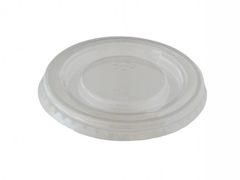 141637 - Deksels APET tbv Dressing cups 60 cc Duni