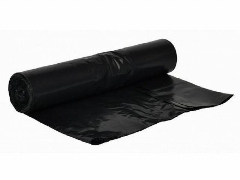 1502840 - HDPE afvalzak op rol 90 x 125 cm 25 mu Zwart