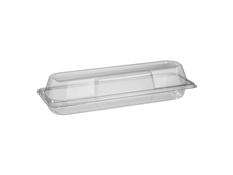 156645 - Baguette Box large Transparant RPET 850 ml Duni