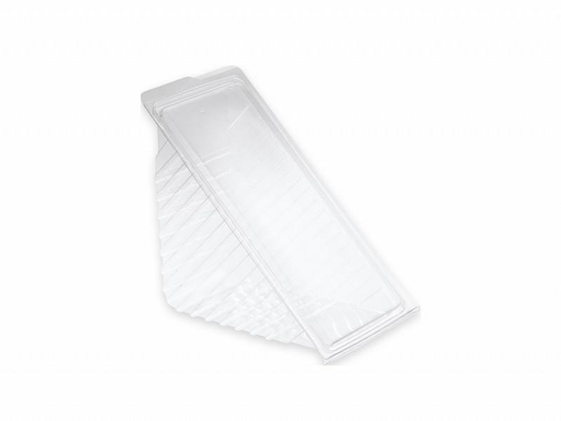 157109 - Sandwich Box RPET 600 ml Semi Transparant 16 x 7,5 x 8,5 cm Duni