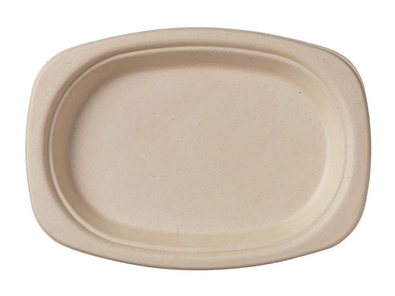 157179 - Bagasse borden 22 cm ovaal Duni