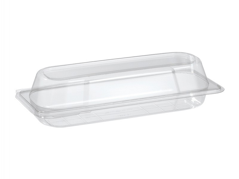 159417 - Baguette Box medium Transparant RPET 500 ml Duni
