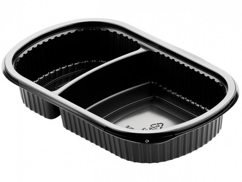 161179 - Meal boxes 2-vaks menubakken 750 cc Duni