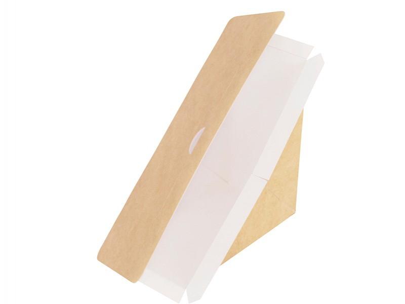 162678 - Sealbare bakjes vierkant 17 x 7,5 x 9 cm Karton/PE Duni