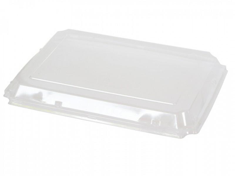 168850 - Deksel PLA tbv Sushi boxen 274 x 197 x 20 mm Duni