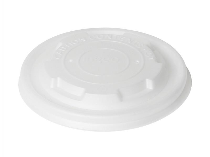 170733 - Deksels CPLA tbv Soepbekers 250 ml Duni (bio afbreekbaar)