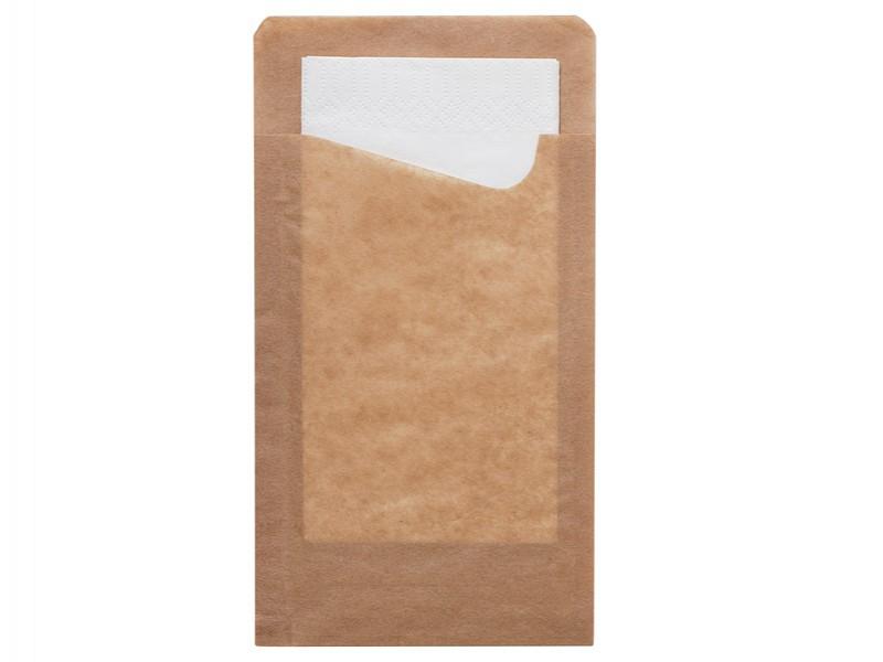 176567 - Bestekzakjes 11,3 x 21 cm Duni