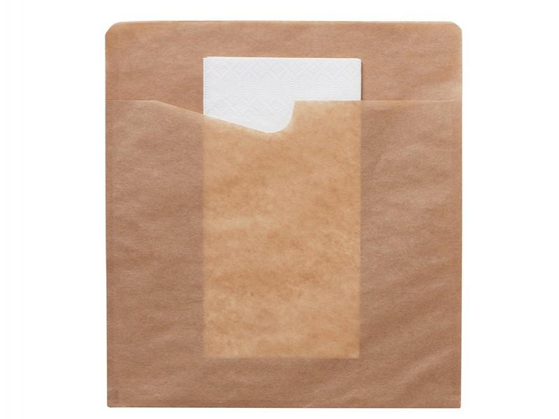 176569 - Bestekzakjes 19,4 x 21 cm Duni