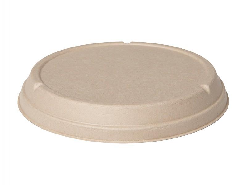 177004 - Deksels Bagasse tbv Salade bowls Ø194 Duni
