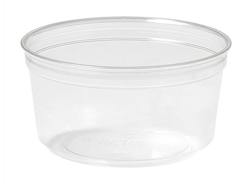 177066 - Crystal Deli RPET 375 ml Transparant 11,6 x 11,6 x 6,1 cm Duni
