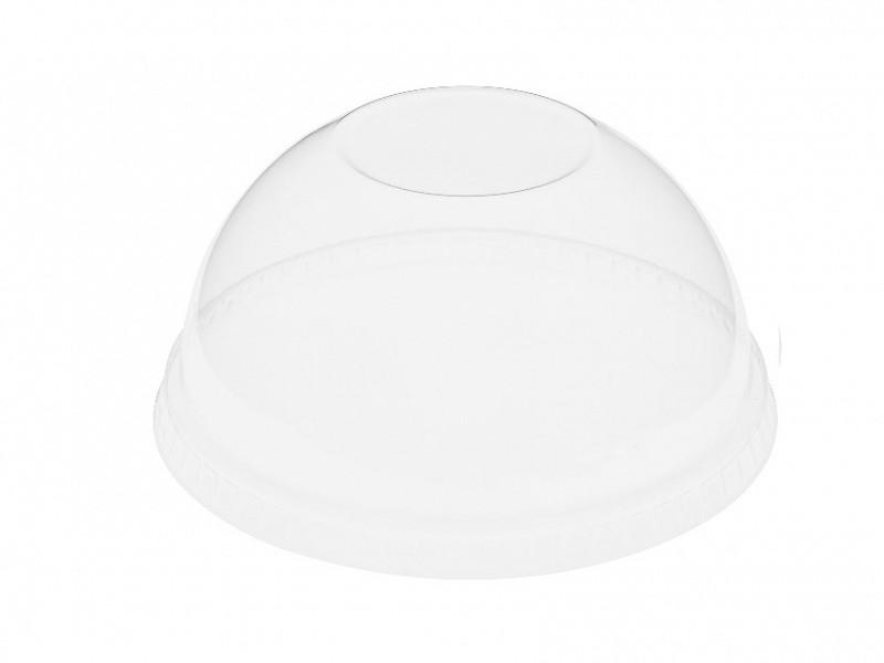 177997 - RPET deksels bol dicht tbv Crystal Glasses bekers 270 & 360 ml Duni