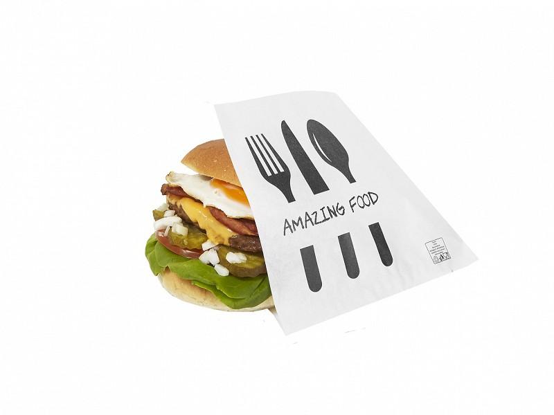 224.0020 - Hamburgerzakjes 15 x 15 cm Amazing Food