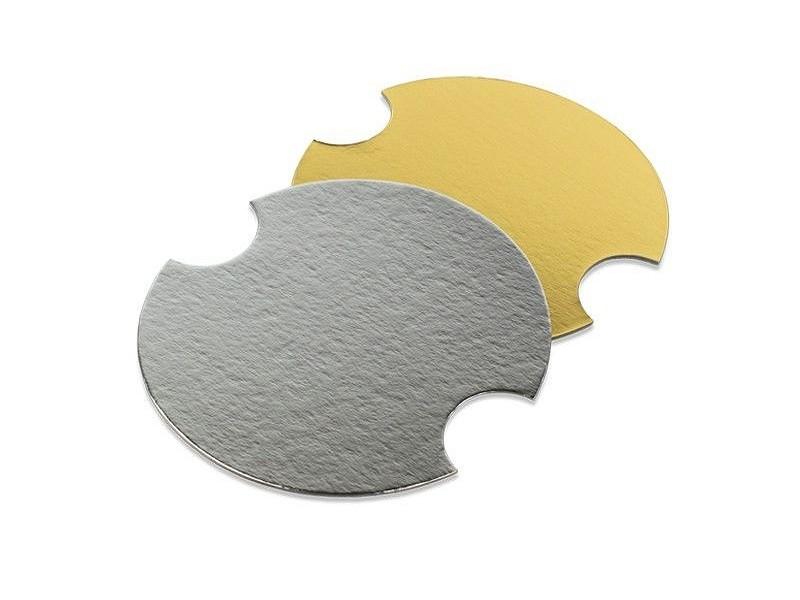 310.1021 - Deksels goud/zilver tbv Kartonnen buckets middel