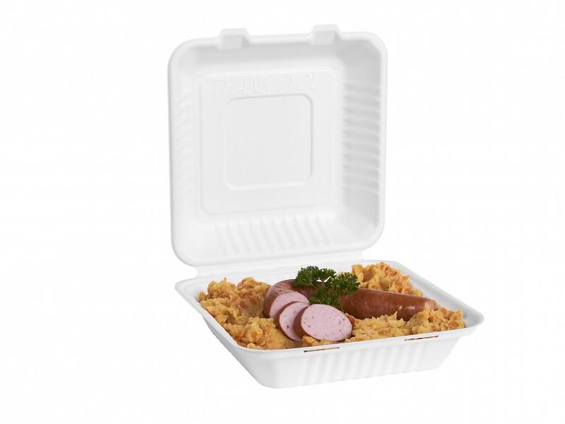 313.0008 - Suikerriet menuboxen 22,8 x 22,8 x 7,6 cm