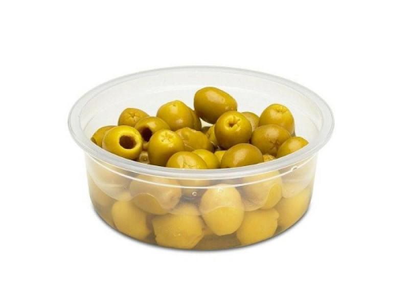0085 - Ronde saladebakjes 150 ml