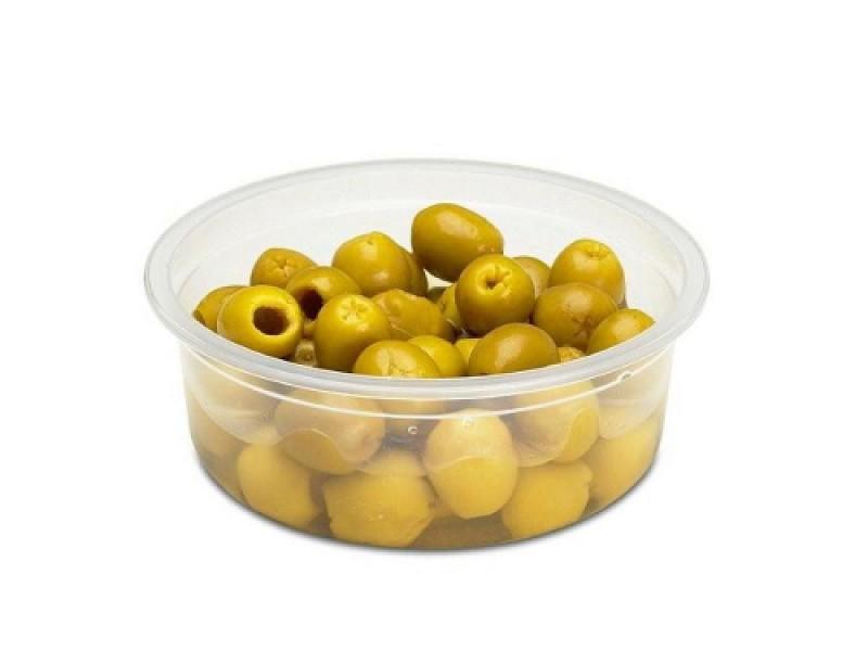 0090 - Ronde saladebakjes 200 ml
