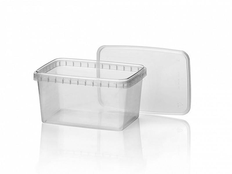 440557 - Verzegelbare bakken 1200 ml (ZONDER DEKSELS)