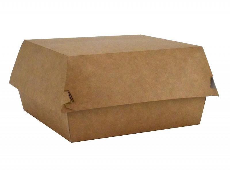 445.0022 - Kartonnen hamburgerboxen 15,5 x 15,5 x 9 cm