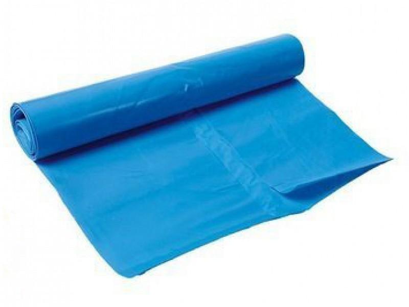 5391BL - Afvalzakken 50 x 85cm 35 my Blauw