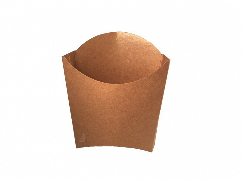845.720 -FSC kraft/PLA scoop cups 8,3 x 13 x 12,5 cm Small