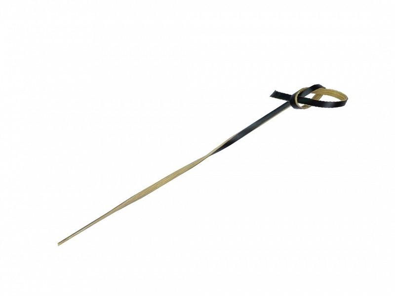 31007 - Knoopprikker Bamboe ZWART 10 cm