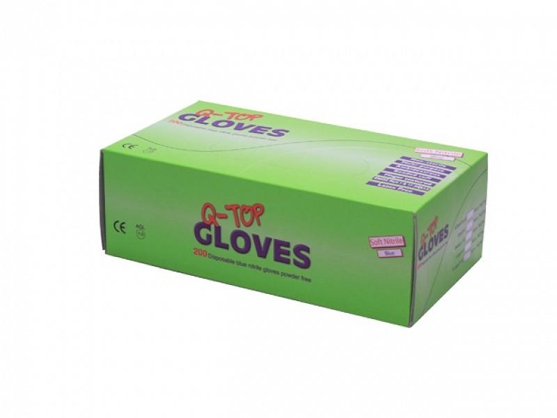 881000 - Handschoenen Soft Nitril Blauw ongepoederd XL