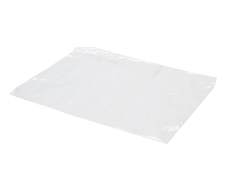 981055 - PE zakken 50 mu 27 x 16 + 4 cm klep en zelfklevende strip
