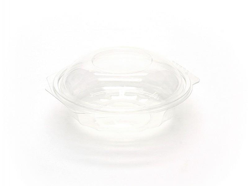 BOW375 - Saladebowl 375 cc Transparant met deksel