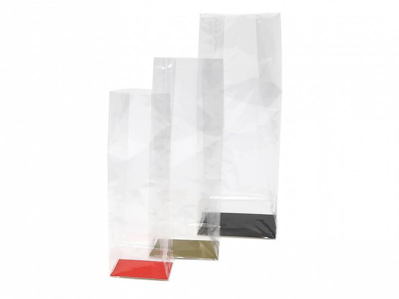 D299562 - Bodemkarton rood tbv blokbodemzakken 120 + 70 x 330 mm