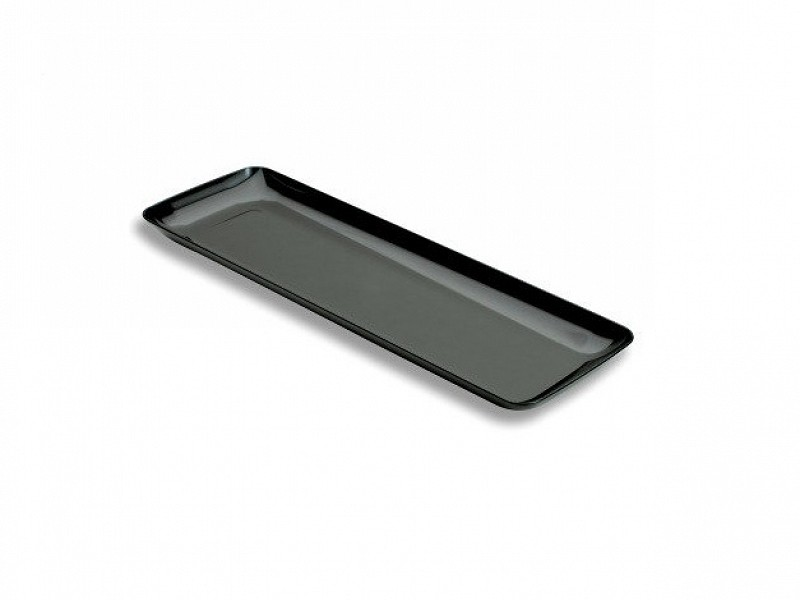 APPRP200B - Zwarte rectangular schaaltje 19 x 6,5 cm