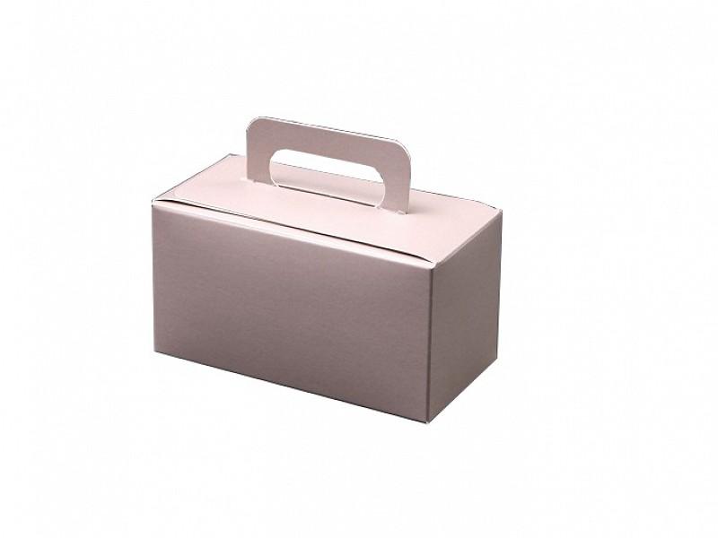 D400496 - Bonbondoosjes met handgreep Grijs 500 gram