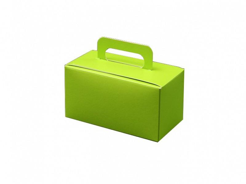 D400497 - OP = OP Bonbondoosjes met handgreep Groen 500 gram