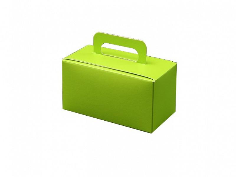 D400492 - OP = OP Bonbondoosjes met handgreep Groen 250 gram