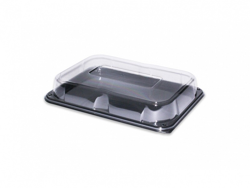 COM93524-25 - Rectangular Platter InclDeksel 35 x 24 x 5 cm