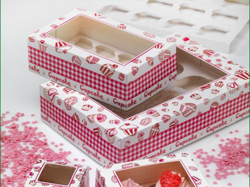 CUP607C12 - Cupcake dozen 36 x 25 x 8 cm
