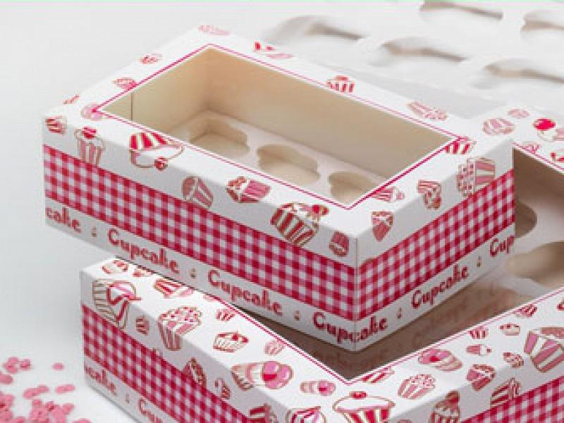 CUP607C6 - Cupcake dozen 24 x 16 x 8 cm