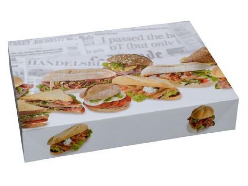 8414 - Cateringdozen 36 x 25 x 8 cm Broodjes