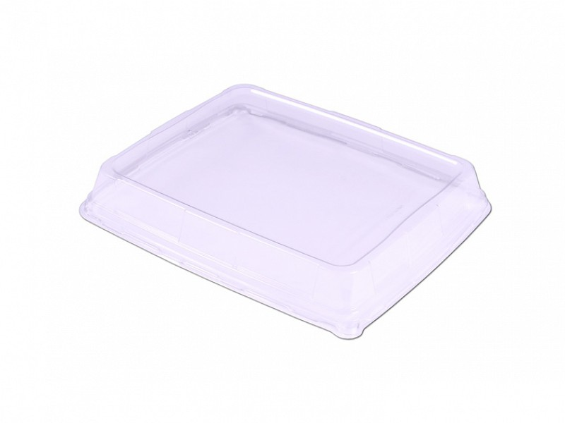 DOM53226 - Deksel transparant tbv Deli Platter HOOG