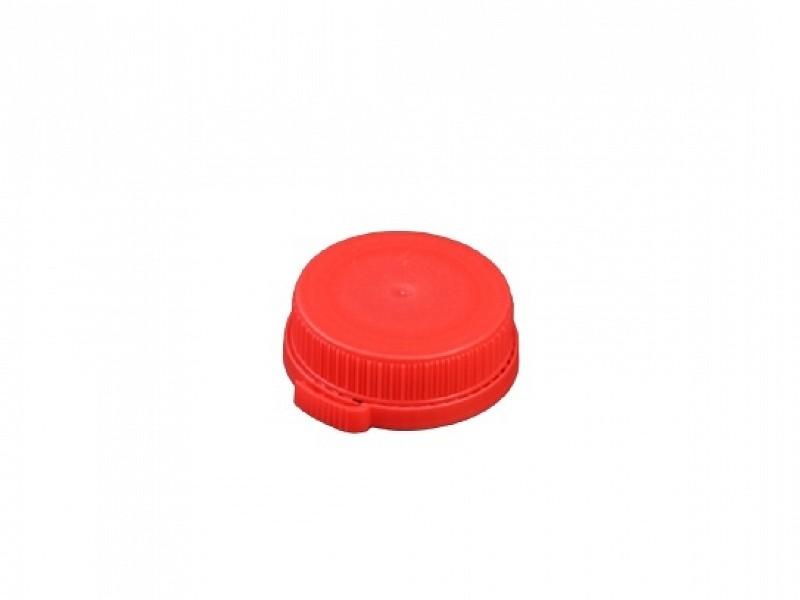 DOP500-RD - Rode doppen tbv HDPE flessen