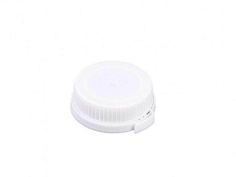 DOP500-WIT - Witte doppen tbv HDPE flessen
