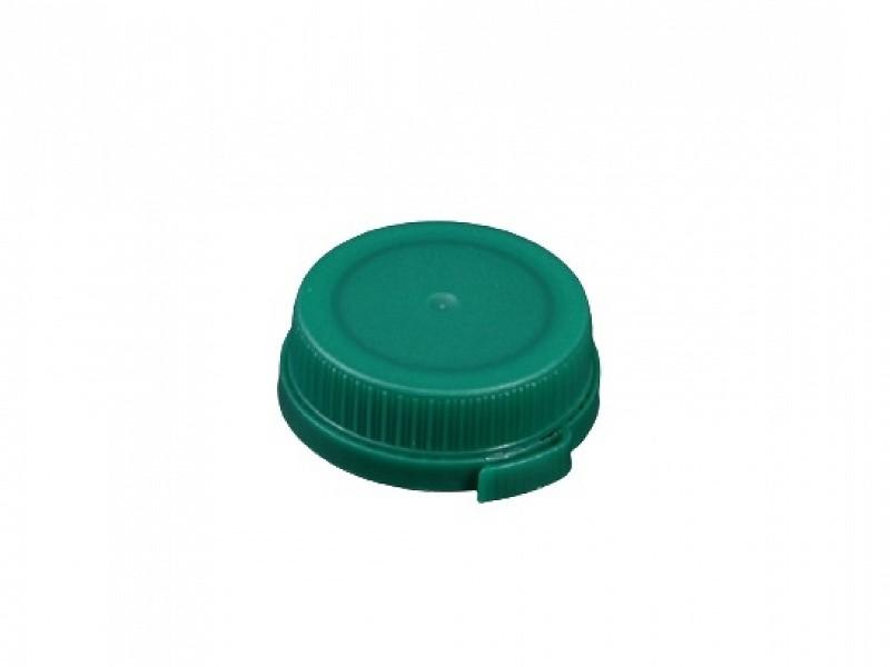 DOP500 - Groene doppen tbv HDPE flessen