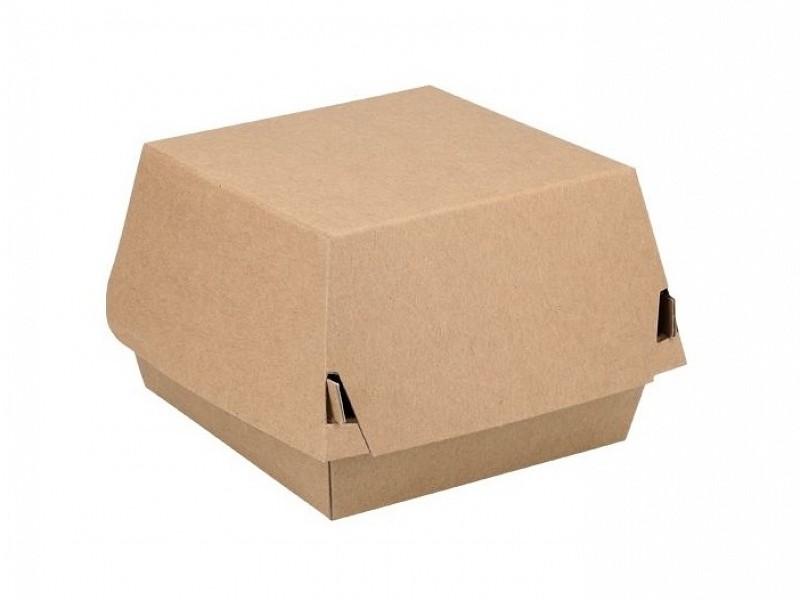ECO16 - Kartonnen hamburgerboxen 11 x 11 x 8 cm