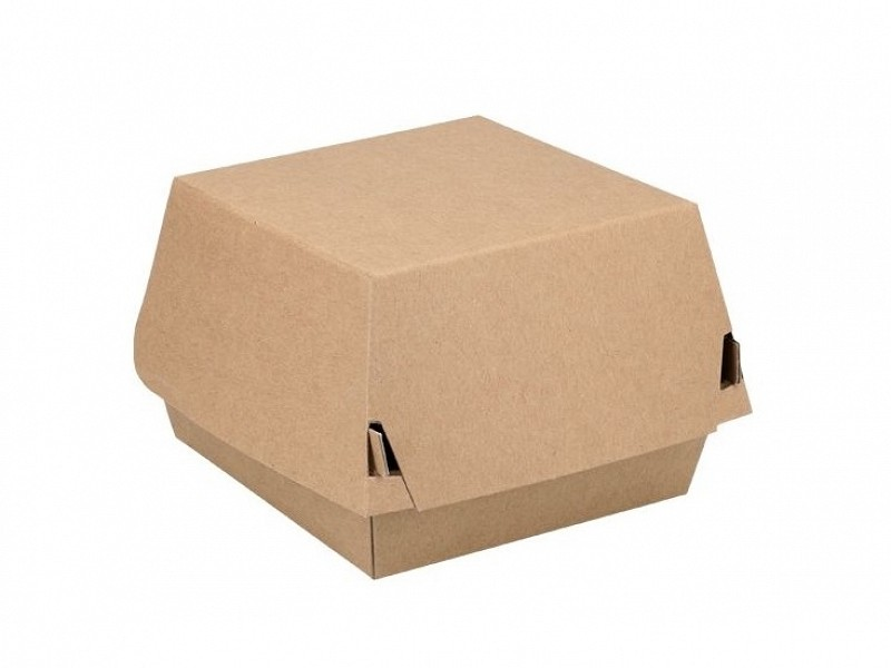 ECO17 - Kartonnen hamburgerboxen 12 x 12 x 8 cm