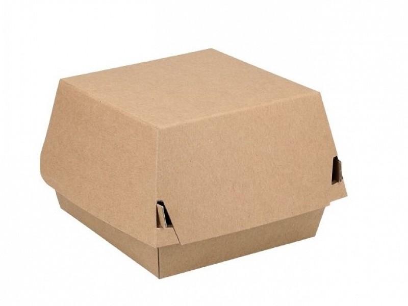ECO18 - Kartonnen hamburgerboxen 13 x 13 x 9 cm