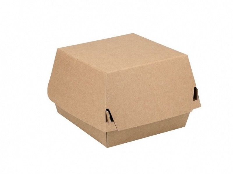 ECO15 - Kartonnen hamburgerboxen 9 x 9 x 8 cm