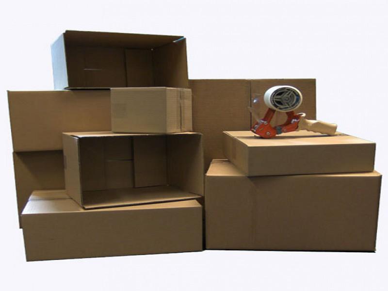 95140 - Golfkartonnen doos 59,5 x 39 x 40 cm