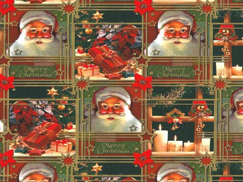 KP90104.50 - Geschenkpapier op rol 50 cm Kerst