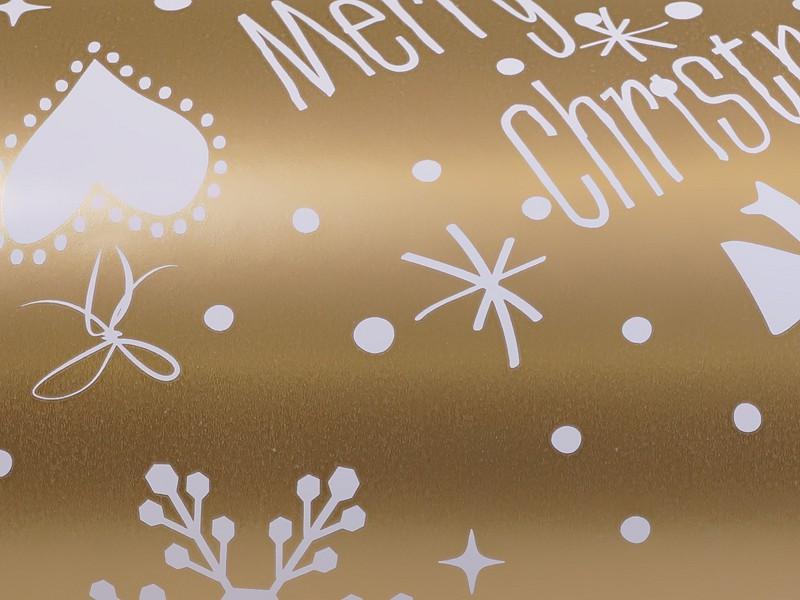 KP90174.30 - Geschenkpapier op rol 30 cm Kerst